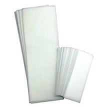 FantaSea Non-Woven Facial & Body Wax Strips. 100 Strips - 50 Small, 50 Large Pac