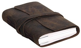 Handmade Leather Journal/Writing Notebook/Bound Daily Notepad For Men & ... - $22.37