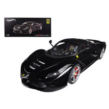 Ferrari Laferrari F70 Hybrid Elite Edition Black 1/18 Diecast Car Model ... - $130.09
