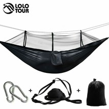 Outdoors Camping Hammock With Mosquito Net Ripstop Nylon Lightweight Bug... - $9.48+