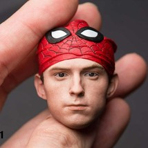 Head Sculpt Supper heroes Little spider Peter For Hot Toys Body1/6 Head... - $44.33