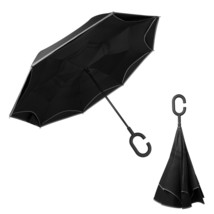 Colorain Reverse/Inverted Double-Layer Windproof Umbrella, Inside-Out Fo... - $24.54