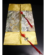 Chinese Design Inspired Decoration Cover with Red Tassel - $4.99