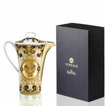 Versace by Rosenthal Coffee Pot Prestige Gold Gala 6 Pers/ 40 Oz NEW  - $782.10