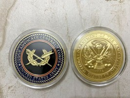 Us Army (Jag) Judge Advocate General's Corps Challenge Coin - $17.72