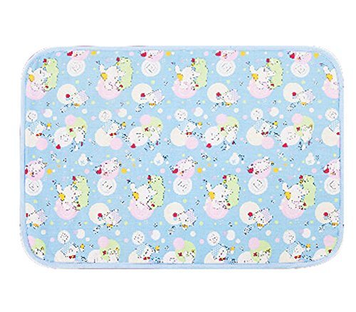 Unique Baby Home Travel Urine Pad Mat Cover Changing Pad 80120cm, Rabbit