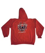 Harley Davidson Men XL Pullover Hooded Sweatshirt Naples Florida Graphic... - $18.69