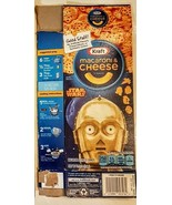 STAR WARS Kraft Macaroni & Cheese EMPTY BOX 2015 series C3PO - left side - $5.93