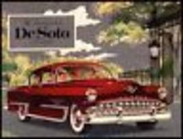 1953 DeSoto Dlx Color Brochure Firedome Powermaster Orig - $24.75