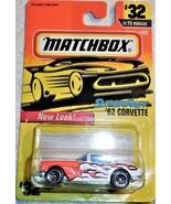 "Matchbox New Look 1997 Super Fast ""'62 Corvette"" #32/75 Mint On Sealed ... - $4.00"