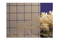 """Small White Squares Opaque Window Film 36"""" Wide x 1yd. Sold as a continuous roll - $41.33"""
