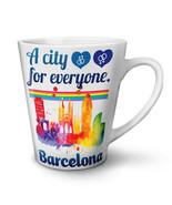 Gay Pride Love Barcelona NEW White Tea Coffee Latte Mug 12 17 oz | Wellcoda - $16.99+