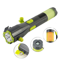 Cranking Emergency Flashlight Multi-functional All In One Survival Tool - $40.69
