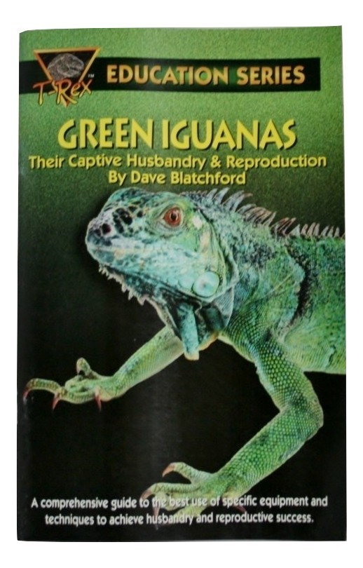 Education Series Green Iguanas, Their Captive Husbandry/Reproduction New 50 page