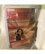 TDK Mini Archival DVD-R Pack of 10 - $19.79