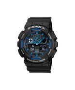 NEW Casio G-Shock GA100-1A2 Speed Indicator Black Dial Men's Watch - $60.73