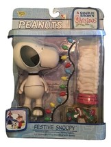 Peanuts A Charlie Brown Christmas Festive Snoopy Memory Lane NIP New - $36.62