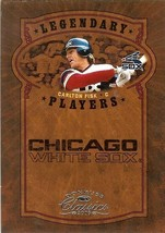 2005 donruss chicago white soxs carlton fisk serial 722/800 - $2.50