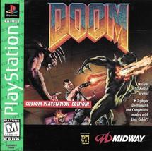 Doom (Sony PlayStation 1, 1995) - $16.00