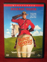 Brendan Fraser Dudley Do-Right Widescreen DVD Sarah Jessica Parker Unive... - $9.72