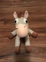 "Disney Parks Toy Story Bullseye Pixar Plush Horse 10"" Jointed Posable - $11.80"