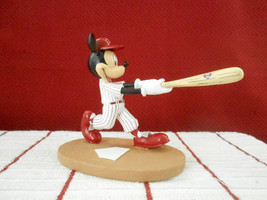 Extremely Rare! Walt Disney Mickey Mouse Playing Baseball LE Figur Statu... - $159.38