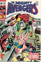 The Avengers Comic Book #66, Marvel Comics Group 1969 FINE+ - $32.81