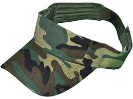 Buy Caps and Hats Camo Visor Woodland Hunting Camouflage Golf Hat for Men Women  - £6.86 GBP