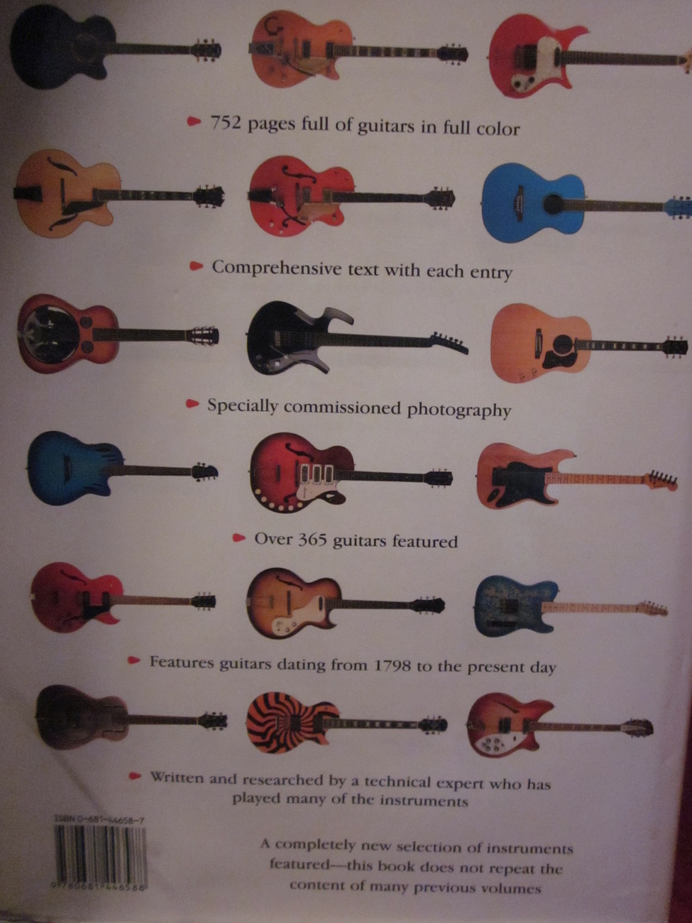 The Illustrated Directory of Guitars by Nick Freeth  2006