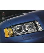2003 Audi A4 sales brochure catalog 03 US 1.8T 3.0 quattro - $8.00