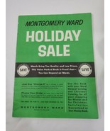 MONTGOMERY WARD WARDS 1961 holiday sale general CHRISTMAS CATALOG WISHBO... - $79.20