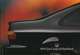 1994 Honda CIVIC COUPE HATCHBACK brochure catalog US 94 Si - $9.00