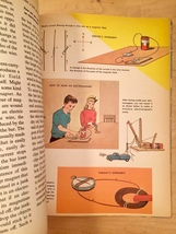 Vintage Childrens book: 1963 How and Why Wonder Book of Magnets and Magnetism image 5