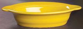 Fiesta Sunflower (Newer) Open Individual Casserole Dish 9 3/8'' in by Homer Laug - $29.99