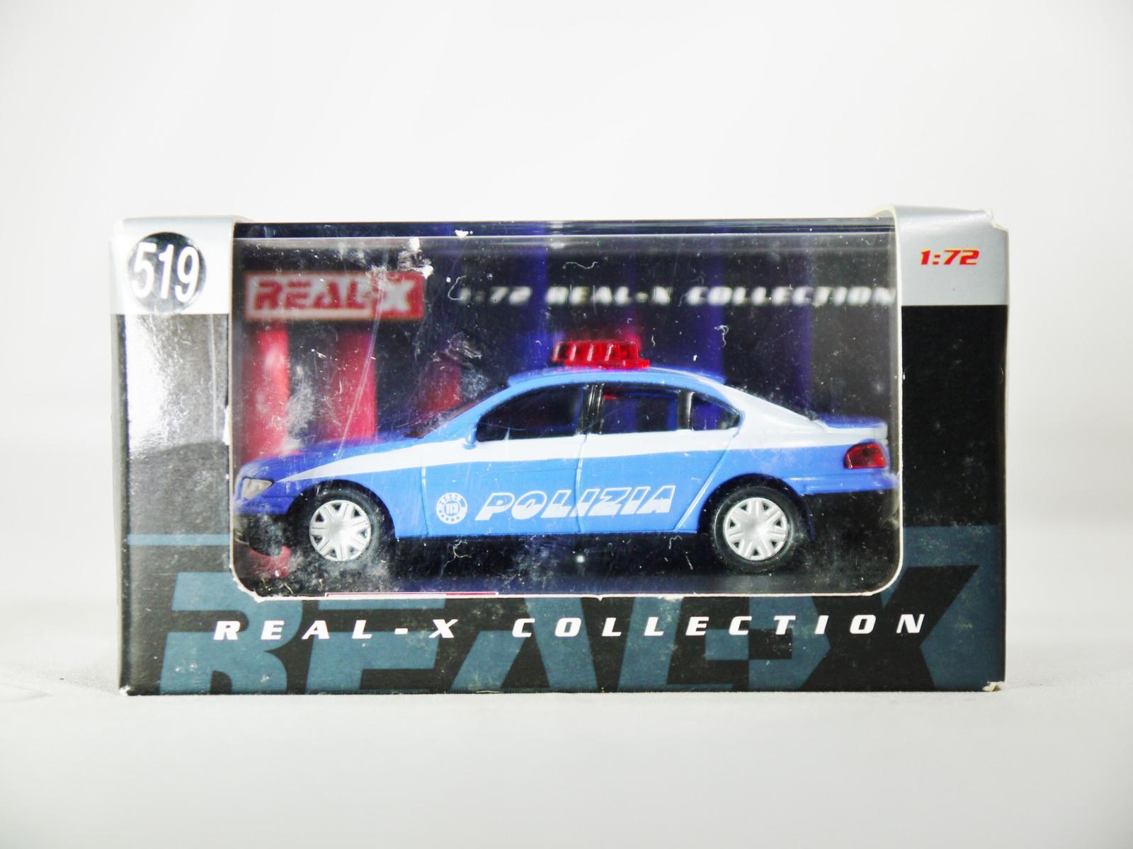 1/72 REAL-X Model Collection ITALY POLIZIA No. 519 BMW 7 Series Patrol Car