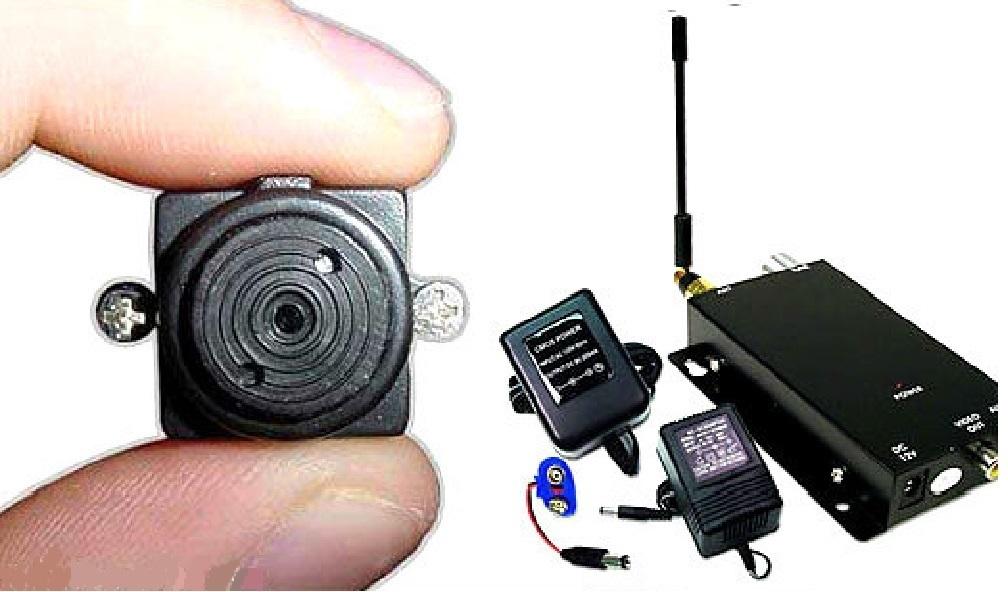 Wireless Spy Nanny Mini Micro security hidden secret covert Camera full system for sale  USA