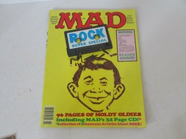 Mad Magazine Rock Super Special NO.74 Spring 1991 W5 - $6.81