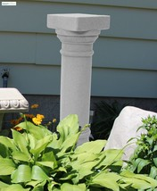 Greek Column Stand Outdoor Plant Flower Pedestal Garden Statue Yard Deco... - $52.41