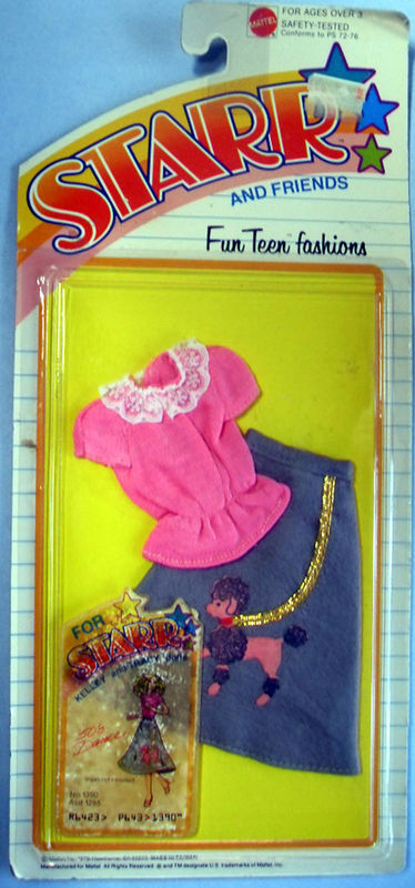 1979 TEEN STARR & (2) MIP FASHIONS 50's DANCE & SCHOOL