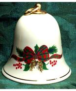 Holiday Tidings Porcelainware SILENT NIGHT Musical Bell - Great Item! - £11.04 GBP