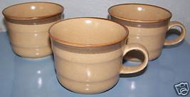 (3) COUNTRY SIDE J7801 JAPAN WHEAT COFFEE CUPS MUGS - $7.92