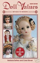 DOLL VALUES  ANTIQUE TO MODERN  8th Edition - $9.84