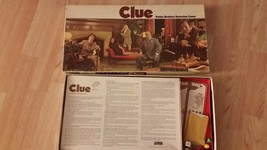 1972 Vintage Clue Board Game Parker Brothers Detective Game - Parts Only - $4.99