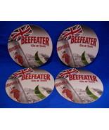 Beefeater Gin Tonic Beer Coasters Set 4 UK Flag Souvenir - $3.99