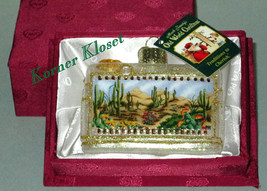 Merck Family's OWC Ornament - Inside Art - Desert Southwest Cactus Scene - NIB - $25.11