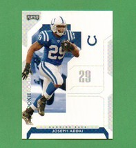 2006 Playoff NFL Playoffs Joseph Addai RC Colts  - $5.00