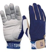 SSG Team Roper Suede Palm Glove style 1000 Small Rt Hand Blue rodeo roping - $20.79