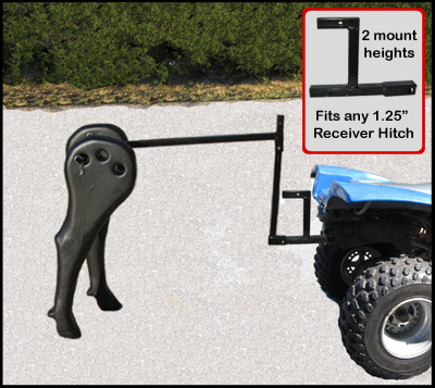 Primary image for Team Roping High Point Heeler Plastic Legs Rope Rodeo Dummy Steer ATV Hitch