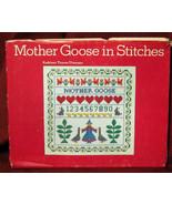 Mother Goose Stitches Cross Stitch Needlepoint Thomsen - $12.57