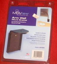 Moview Monitor LCD TV Arm Wall Mount Bracket Support MVWMB NIP FREE SHIP - $28.00